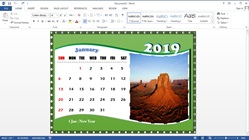 Cara Membuat Kalender Meja di Microsoft Office Word