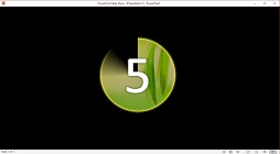 How to Create a Watermark Picture Countdown Animation Text in Microsoft PowerPoint