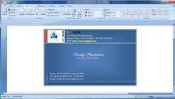 How to Design Your Own Business Cards in Microsoft Word