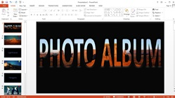 How to Make Animation Presentations Slideshow Photos With Music on Microsoft PowerPoint