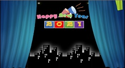 How to Make Happy New Year Digital Text Animated Slideshow in Microsoft PowerPoint