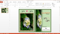 How to Make Wedding Invitation Cards in Microsoft PowerPoint
