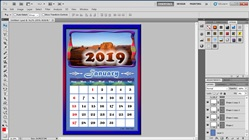 How to Make Your Own Calendar in adobe Photoshop