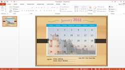 |How to Make Your Own Calendar in Microsoft PowerPoint