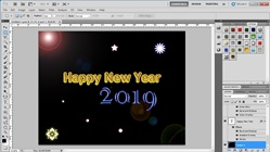 How to Make a Happy New Year Card in Adobe Photoshop