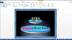 How to Make a Happy New Year Card in Microsoft Word