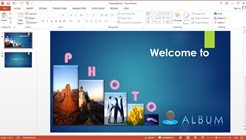 How to Make an Animated Slideshow Presentation Count Down Text and Images in Microsoft Powerpoint