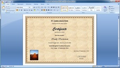 How to Make Your Own Certificate in Microsoft Word